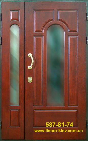 железная дверь со створкой